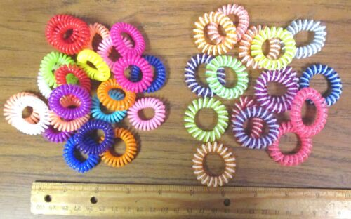 Multi color Girl/'s Elastic Hair Ties,Band Rope Phone Wire,Hair Bands