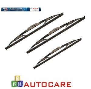 Bosch-Superplus-Front-Rear-Window-Wiper-Blades-For-Toyota-Prius-NHW20
