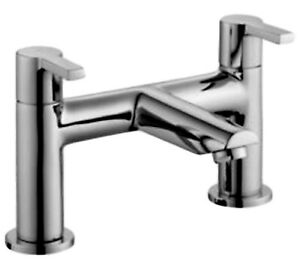 COOKE-amp-LEWIS-PURITY-2-HOLE-BATH-MIXER-TAP-CERAMIC-VALVE-DECK-MOUNTED-CHROME-NEW