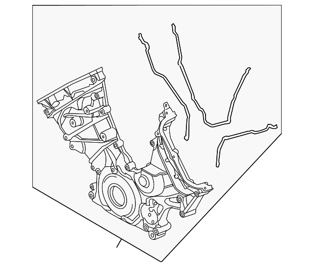 Ford BL3Z-6019-A Engine Timing Cover