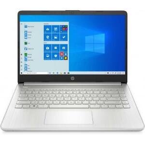 "HP 14 Series 14"" Touchscreen Laptop AMD Ryzen 3-3250U 8GB RAM 256GB SSD Silver"