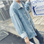 UK-Men-039-s-Denim-Coat-Wash-Vintage-Jacket-Loose-Long-Sleeve-Casual-Jean-New-Coat thumbnail 3