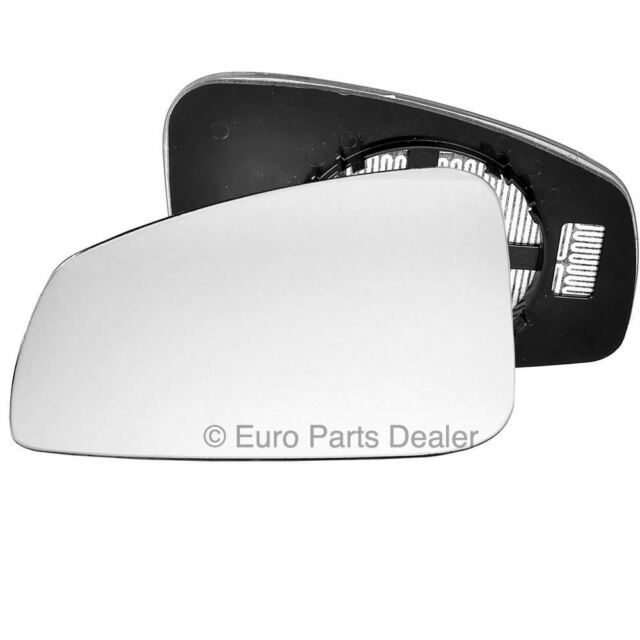 Left hand passenger side for Renault Megane 2008-15 Wide Angle wing mirror glass