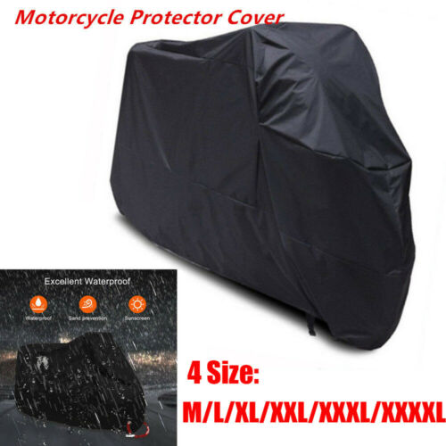 Universal Motorcycle Scooter Waterproof UV Protector Outdoor DustBike Rain Cove
