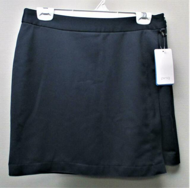 New Womens Size US 6 PING polyester navy golf skorts