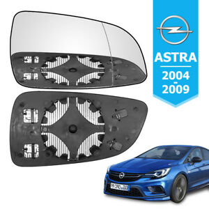 WING-MIRROR-GLASS-HEATED-FITS-VAUXHALL-ASTRA-H-MK5-Right-Drivers-NEARSIDE-04-08