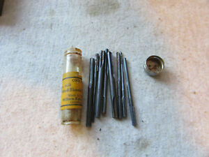 Millers-Falls-402-Fluted-X-Shank-Drill-Points-Nos-1-8-Set-Stanley-Yankee