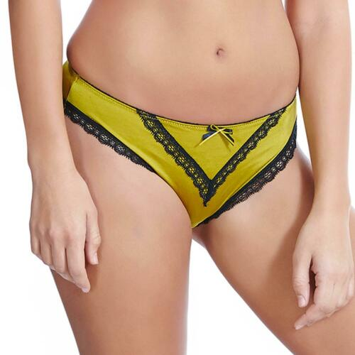 Freya Lingerie Deco Charm Brief//Knickers Chartreuse 1475