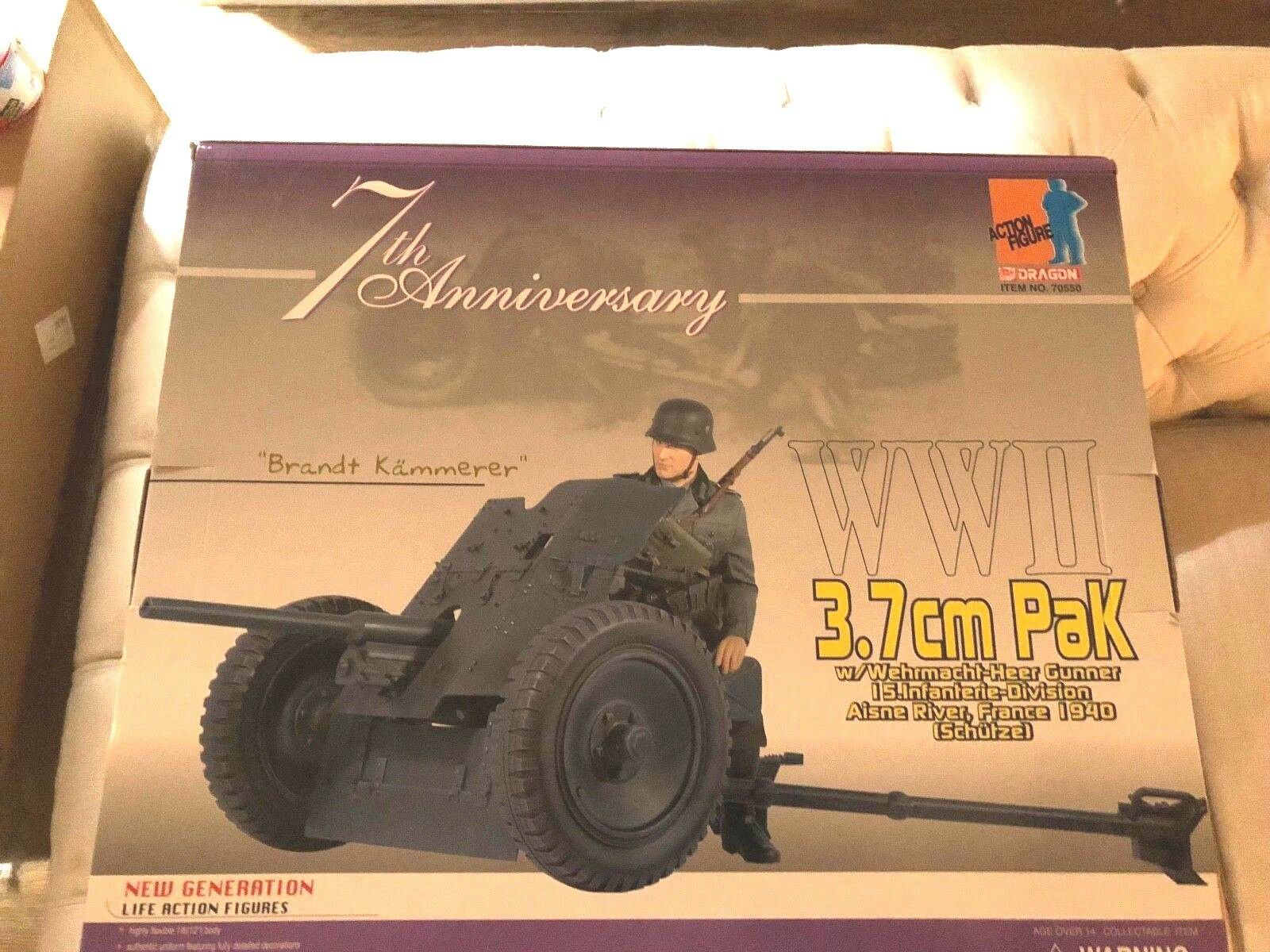 Dragon WWII 1 6 7th Anniversary 3.7cm  PAK  Bret Kammerer   France 1940  promozioni eccitanti