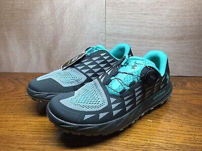 Men/'s Under Armour Hiking Shoes Fat Tire 3 UA Black Gray Green BOA 3020143-300