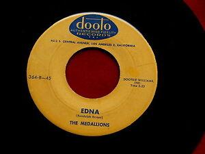 Medallions Edna Speedin Rare Pressing Dooto 364 Doo Wop