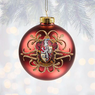 Universal Studios Harry Potter Slytherin Ball Christmas Ornament Snake Sigil