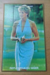 #8 1997 Princess of Wales Lady Diana Miniature Stamp MNH Niger