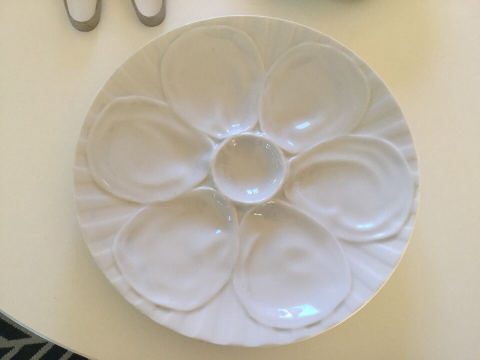 Porcelæn, Østerstallerken / snegletallerken/