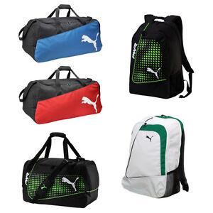 Puma-Sporttaschen-Fussball-Sport-Tasche-Trainingstasche-Rucksaecke-Backpack