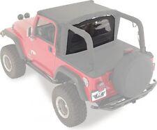1987 2006 Jeep Wrangler And Unlimited Windjammer Wind Breaker Black Denim Fits 1994 Jeep Wrangler