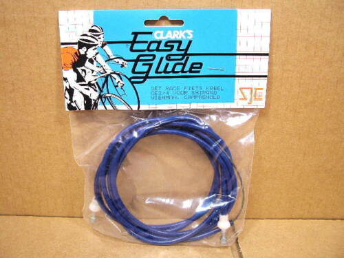 New-Old-Stock Clarks Brake Cable Set w//Dark Blue Cable Housing