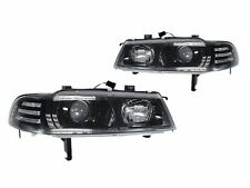 DEPO 92 93 94 95 96 Honda Prelude JDM Black Projector Headlights Head Lamp Pair