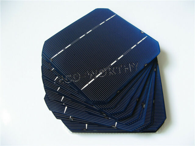 5x5 125x125 Monocrystalline Solar Cells Mono 5x5 Cell for DIY Solar Panel