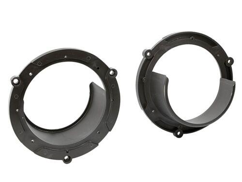 Sinustec altavoces 130mm coaxial boxeo para Mazda Demio 98-03 front//Heck
