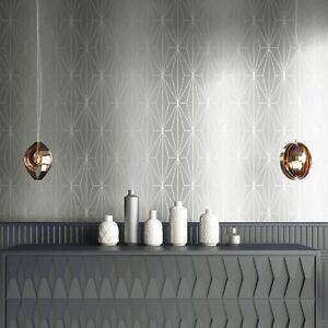 Muriva-703010-Kayla-Metallique-Papier-Peint-Geometrique-en-Colombe-Gris-Argent