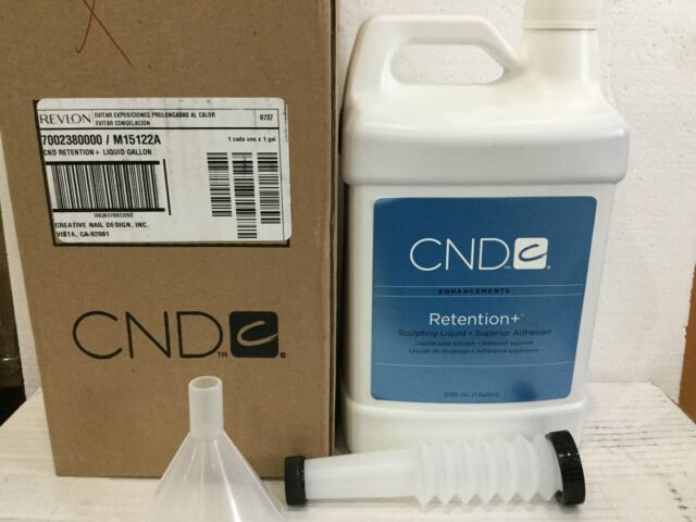 CND Creative Nail Design Liquid Retention 128oz Gallon | eBay
