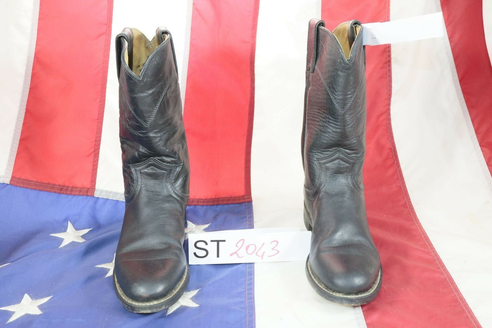 botas JUSTIN (Cod. ST2043) ST2043) ST2043) USATO N.6b mujer Pelle  marrón texani country  ahorre 60% de descuento