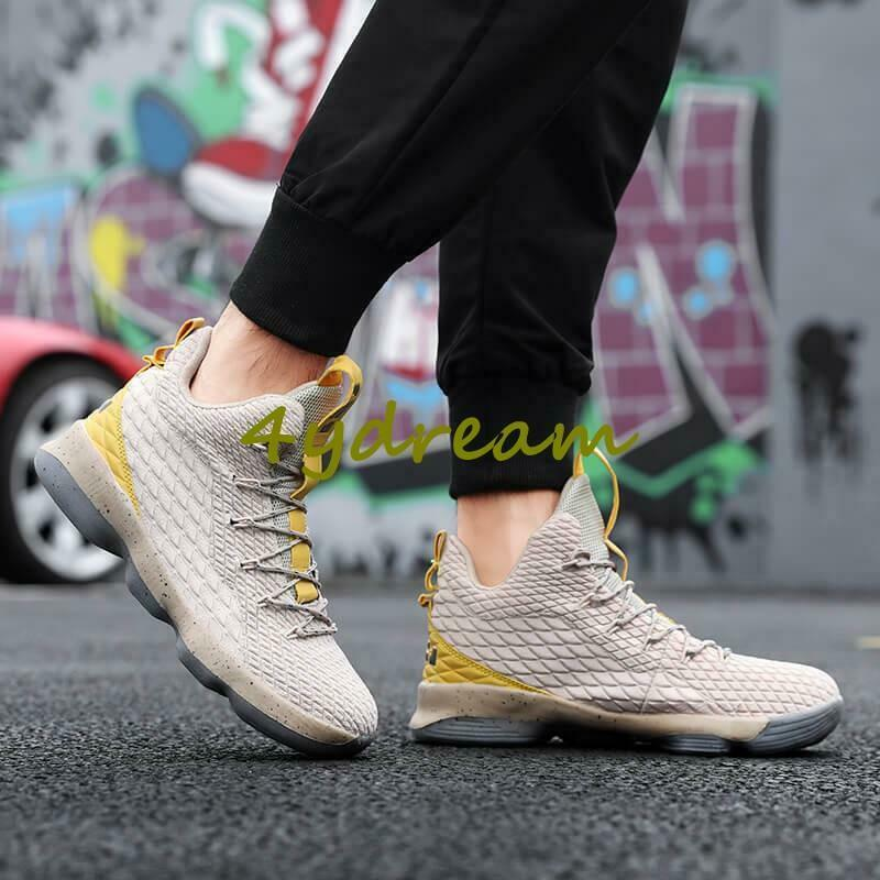 Mens Basketball shoes Outdoor Sports Training Athletic Running Sneakers Casual