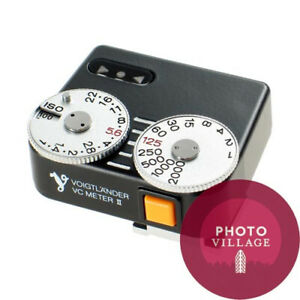 Voigtlander-VC-Meter-II-Black-Shoe-mount-Light-Meter-for-Leica