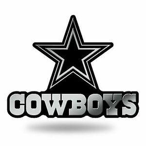 d0dbb01b Dallas Cowboys Logo 3d Chrome Auto Decal Sticker Truck Car Rico