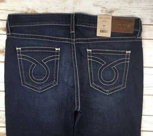 Mens Big Star Jeans Low Rise Union Slim Straight Leg Dark Jeans 40S 40R 42R