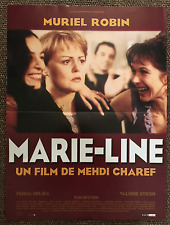 AFFICHE CINEMA 40x60 1999 MARIE LINE Muriel Robin Mehdi Charef