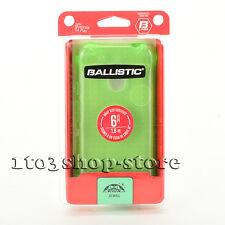 Ballistic Jewel Soft Rubber Gel Case Cover for Moto Motorola G4 Play Green NEW