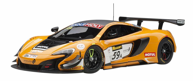 AUTOart 1 18 McLaren 650 S GT3 2016 A Bathurst 12 hr Winner 81643 EMS W T