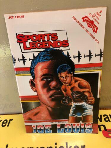 VINTAGE *JOE LOUIS* SPORTS LEGENDS COMIC BOOK BOXING!!NEW CONDITION