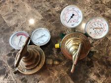 Victor Equipment Company Amp Uniweld Gas Regulator Lot
