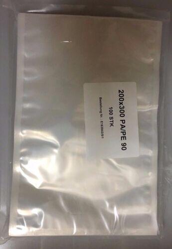 100 Stück Vakuumbeutel Siegelrandbeutel Vakuumtüten 90my Einschweißtüten