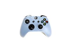 Xbox-One-Silikon-Schutzhuelle-Controller-Huelle-fuer-Xbox-One-Neu-Transparent-Weiss