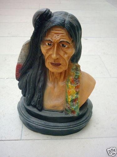 Personaje indios busto indios personaje indios busto altura 38cm