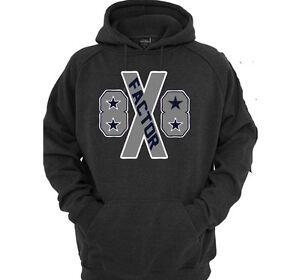Details About Dez Bryant X Factor Dallas Cowboys Sweatshirt Hoodie