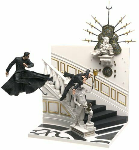 Matrix Uppdaterade - Neo i Chateau Action Figur Box Set Mcfarlane