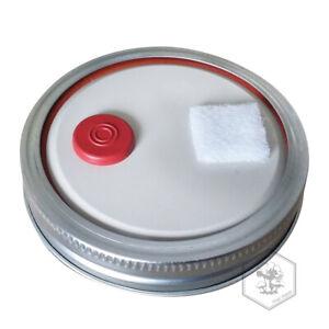 Details about 3/6 Grain Spawn Master Jar Lid AUTOCLAVE SAFE Wide Mouth  Mushroom Injection