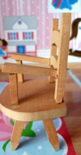 RARE Vintage TYNIETOY Tynie Toy NURSERY Chair Dollhouse Miniature