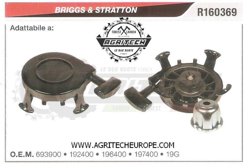 196400 CARTER AVVIAMENTO COMPLETI AVVIATORE  BRIGGS & STRATTON