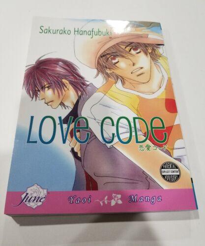 Love Code By Sakura Hanafubuki Yaoi Manga English Brand New Sealed