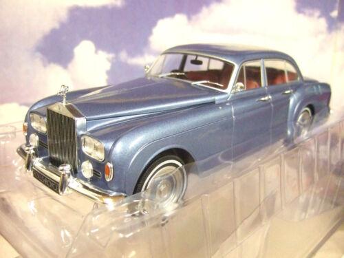 MCG Modèles 1//18 Diecast 1965 Rolls Royce Silver Cloud III 3 Flying Spur rencontré Bleu