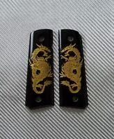 Colt 1911 Grips Custom Fit For Full Size Dragon Kimber Clone Handmade Resin