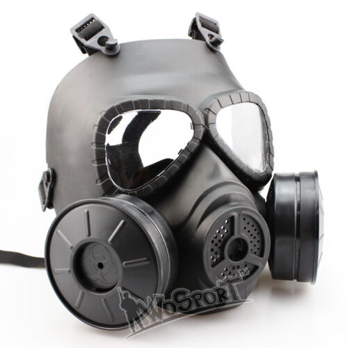 Airsoft Paintball Tactical Cosplay CS War Game Protection Full Face Gas Mask