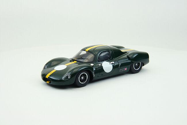 EBBRO 44556 1 43 COSTIN NATHAN GT 1968 Résine Vert
