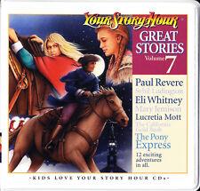 Great Stories Vol. 7 : 6 CD Dramatized Audio Stories (2006, Cassette)